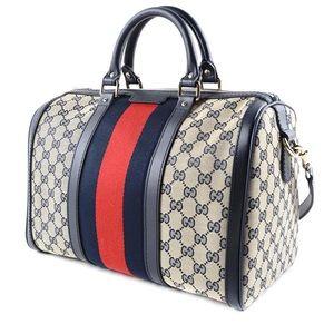 100% Authentic Gucci GG Print Purse